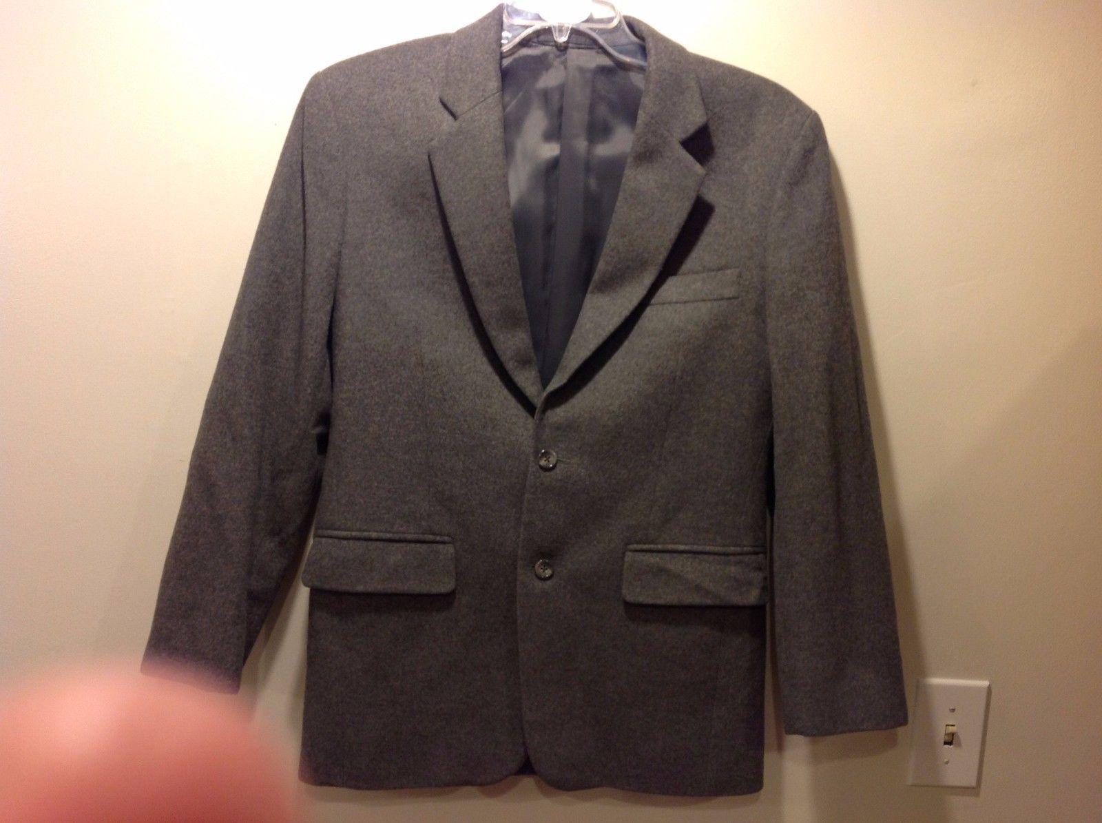 Custom Men's Grey 2 Button Warm Blazer by Nita Fashions