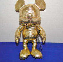 Disney Mickey Mouse 90th Anniversary Gold Plush Small image 3