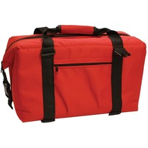 NorChill 24 Can Soft Sided Hot/Cold Cooler Bag - Red [9000.50]  - $43.99