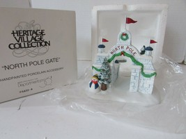 DEPT 56 56324 NORTH POLE GATE HERITAGE VILLAGE ACCESSORY D19 - $12.69