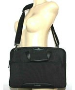 """❤️ BRENTHAVEN Elliot Carry Case Black Cross-Body 14"""" Laptop Slim Bag NEW... - $23.74"""