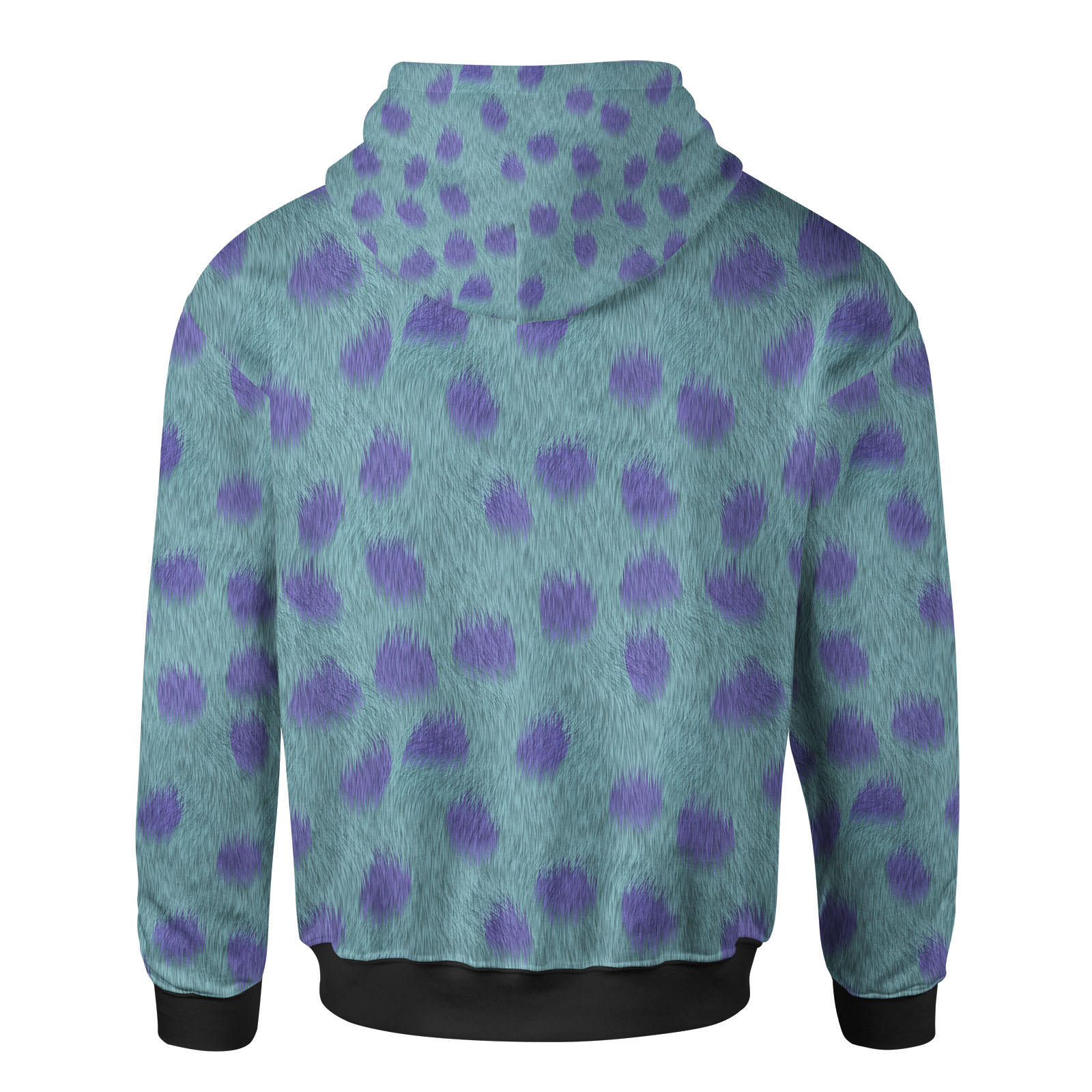 Sully Fur Monsters Inc Disney Inspired Women Zip Up Hoodie
