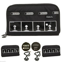 LeSportsac Peanuts Snoopy Comic Strip Lily Wallet Limited Edition Free S... - $72.00