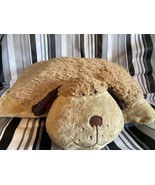 """Pillow Pets Brown Plush Puppy Dog 18"""" Soft Stuffed Animal Toy Pre-owned ... - $18.49"""