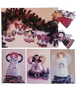 Angel Tree Topper Ornaments Simplicity 0604 Pattern Vintage 1991 Christm... - $6.99
