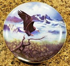 Eagle American Spirit In Flight Collector Plate Mint Condition - $35.00