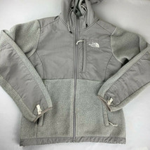The North Face Jacket Denali Fleece Hoodie Ski Coat Women's XS TNF Gray - $39.99