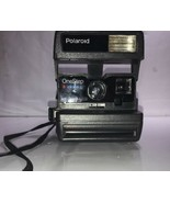 Polaroid One Step CLOSE UP Vintage Camera 600 Instant Flash Sold Not wor... - $65.44