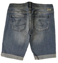 SILVER Jeans Sale Buckle Low Rise Tyler Denim Jean Stretch Bermuda Short... - $19.97