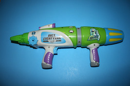 Disney Toy Story Buzz Lightyear Toy Dart Foam Ball Gun Rifle Blaster - $3.99