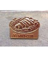 MCDONALD'S GOLD CLUB Souvenir Lapel Hat Pin - $7.99
