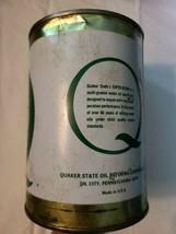 Vintage Quaker State Super Blend Motor Oil, Original Tin Can, Empty  image 2