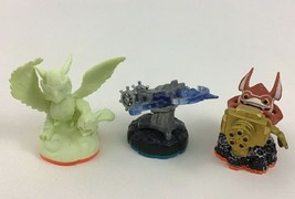 Skylanders Figure Lot Air Glowing Sonic Boom Tech Trigger Happy Arkeyan Crossbow - $10.84