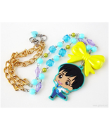 Phichit Chulanont Rubber Charm Necklace, Anime Jewelry, YOI, Kawaii Fashion - $29.00