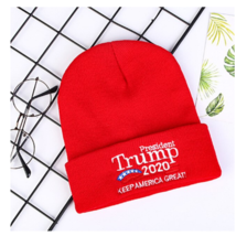 Donald Trump 2020 Keep America Great Hat Cap winter - Black and Red Color - $10.99