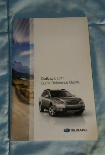 2011 subaru outback quick reference guide and 50 similar items rh bonanza com 2010 Nissan Altima 2004 Nissan Sentra