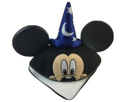 Disney Fantasia Sorcerer Wizard Mickey Mouse Ears Hat Adult OS - $14.01