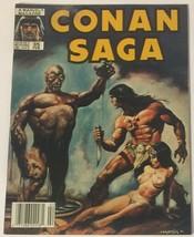 Conan Saga 35 Newsstand Edition Comic Magazine FN Condition - $7.91
