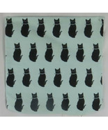 Throw Pillow Cover ArtVerse Katelyn Smith Concealed Zipper Blue Cat Pattern - $39.59
