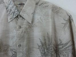 Campia Moda Tropical Aloha Friday Shirt Size M Match Pocket Tea Leaves C... - $29.69