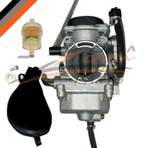 CARBURETOR CARB FOR 2002-2007 SUZUKI VINSON 500 LTF500F LTA500F 4X4 ATV - $39.55