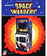 Video Arcade Game Stand-Up Display Space Invaders - Missle Command Aster... - $15.99