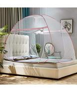 Portable Folding Mosquito Net for Bed Pop-up Anti Mosquito Net Bed Guard... - $28.70