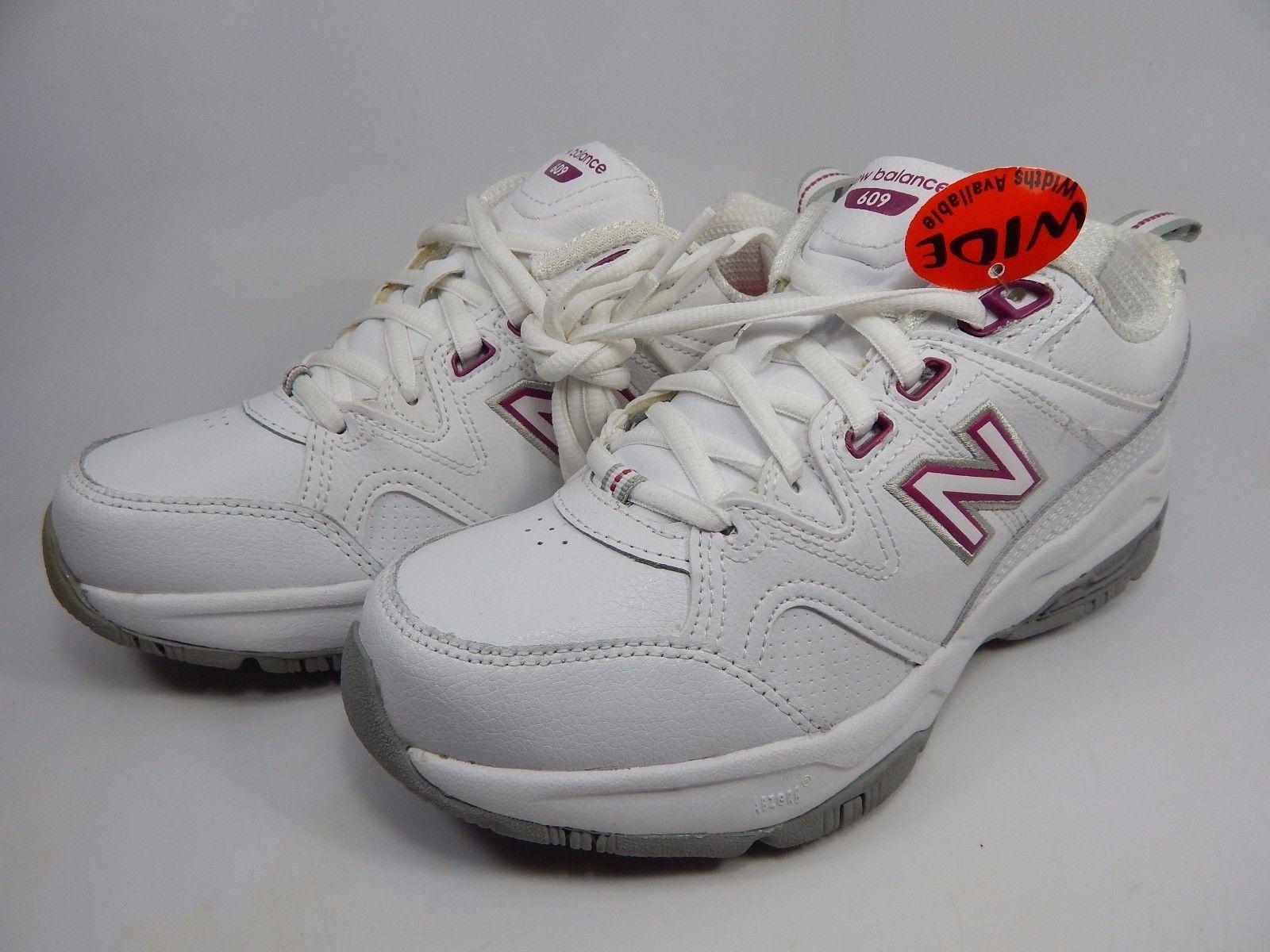 New Balance 609 v2 Women's Training Shoes Sz US 6 D WIDE EU 36.5 White WX609CY2