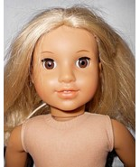 American Girl Julie Albright Blonde Hair 1970s Character Doll Hair Cut Nude - $55.42
