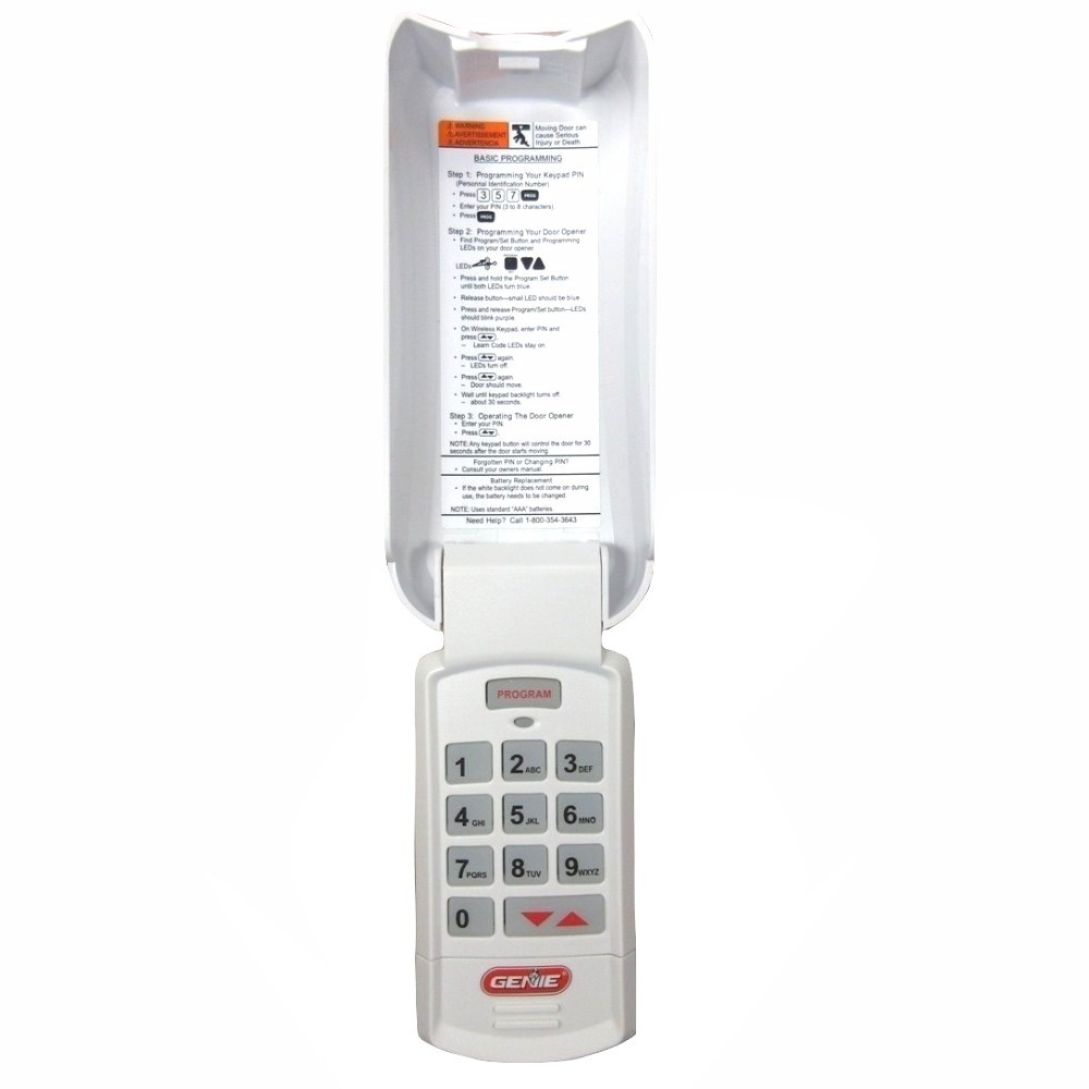 Overhead Door Wireless Garage Opener Keypad Okp Bx