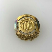 Vintage Hadassah Life Member Judaica Brooch Pin  1/20 10k Gold Filled #2 - $12.86