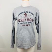 Disneyland Resort Retro Print Long Sleeve Shirt: Sz S - $21.49