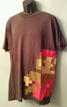 Official Club Nintendo T Shirt Exclusive Retro 8 Bit Mario Dark Gray Gre... - $32.71