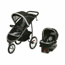 Graco FastAction Fold Jogger Click Connect Travel System - Black - $264.11