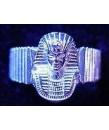LOOK Sterling Silver 925 Egyptian Pharaoh Ring egypt King tut Jewelry New - $43.20