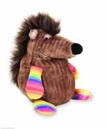 "Manhattan Toy Quirklies Hamish Plush Stuffed Animal 8"" Brown and Rainbow... - $5.80"