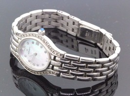 Movado 14k White Gold & Diamond Mother Of Pearl Watch 0.50 TCW 34.2g #32492 - $1,781.99