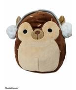 "NEW NWT Kellytoys Squishmallow Hans the Hedgehog Plush w/Earmuffs 8"" Chr... - $23.12"
