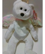 "1998 Ty HALO Teddy Bear 8.5"" Plush Beanie Babi... - $8.99"
