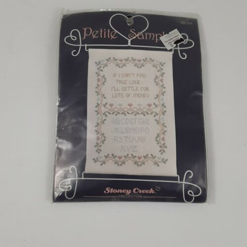 Stoney Creek Collection Counted Cross Stitch Kit Petite Sampler - $13.99