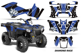 ATV Graphics Kit Decal Quad Wrap For Polaris Sportsman 570 2014-2017 DRA... - $267.25