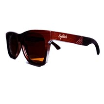 Ebony Wooden Sunglasses, Tea Colored Polarized Lenses, Handcrafted, 100%... - $39.99