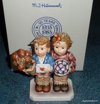 """The Love Lives On"" Goebel Hummel Jubilee 50th Anniversary Figurine With Box! - $169.74"