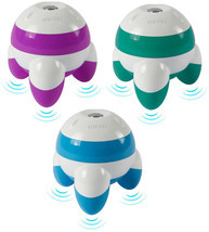 NEW Homedics Pink Blue Teal Green Galaxy Hand Held Mini Vibrating Massager NWT