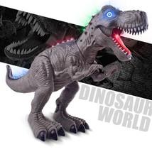 Electric Light Dinosaur Tyrannosaurus Toy fr Children Up Walking T-rex M... - £20.24 GBP