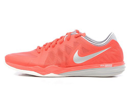 Nike Dual Fusion TR 3 Print 704940-602 Women's Shoes Red Grey Sneakers S... - $79.19