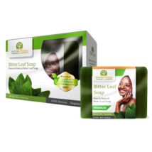 3 Bars of Bitter Leaf Soap. 30 Days Supply of Herbal Cleansing & Healthy Skin. - $39.99