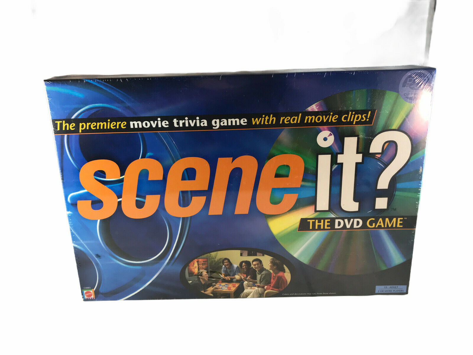 Primary image for Mattel Scene It? The DVD Game 2003 Edition