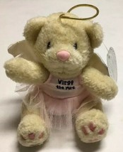 Virgo The Pyre Teddy Bear Plush Enesco Group Stuffed Animal Angel Baller... - $34.64