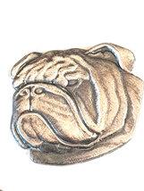 detailed boxer dog english Pewter Lapel Pin Badge, gift boxed image 2